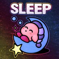 Kirby Sleep by likelikes