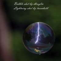 lightning in a bubble by twombold