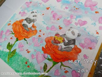 :: Panda's Love :: Preview Valentine's Day by maritery-san