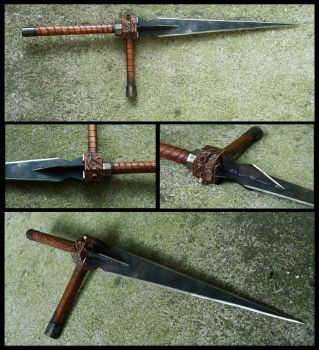 Steampunk Sword: Akurojin- by TamonteN