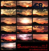 Sunset pack for Vue 6 vol.2 by 00AngelicDevil00