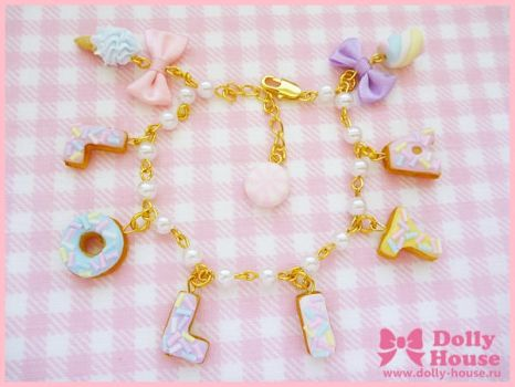 Lolita Sweets Bracelet by Dolly House by SweetDollyHouse