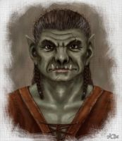 Heroes of Might and Magic - Orc by A-De