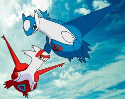 The Eon Duo - Latias and Latios