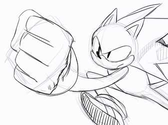 [ANIMATION] Sonic Running by ss2sonic