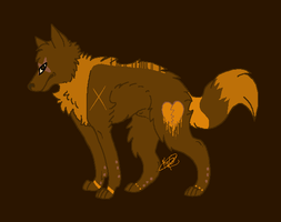 Adopted Wolf by Ghewler