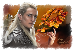 Legolas by LadyMintLeaf
