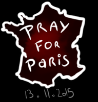 Pray for Paris by Dream-Yaoi