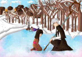 Jack Frost: Memorial *SPOILERS* by IgnitingLights
