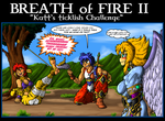 Commission - Breath of Fire II tickle by GearGades