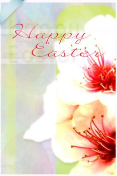 Happy Easter 2 greeting card by AzureStrawberry