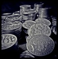 COINS COINS AND SOME COINS by smortaus