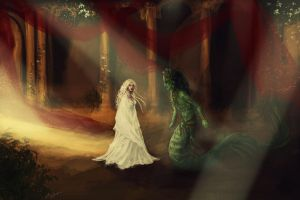 Returning of the Serpent by DancinFox