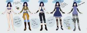 FT OC - Reference sheet. by Etsu-hime