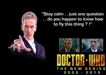 Doctor Who - T.N.S. - The 12th Doctor by DoctorWhoOne