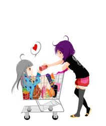Shopping Cart by Iris-Zeible