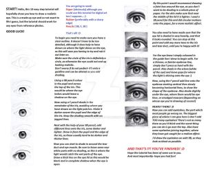 realistic pencil eye tutorial.