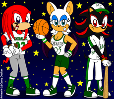 Mobius Emeralds Sports Players by CaseyDecker