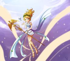 Janna, Messenger of the Gods by HatterMadness