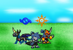 Digimon Armor Show Version 1 by BluethornWolf