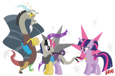 The discolight  family cutie marks by SuperRosey16