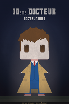 Tenth doctor - Doctor Who by spyrojojo