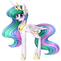 .:Celestia - Princess of...cake?:. by KremciaKay