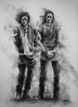 Les Twins twists by LilDevilAriel