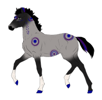 N3130 Padro Foal Design for DarkestNation by casinuba