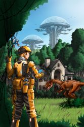 Planetary Anthology Earth by Artraccoon