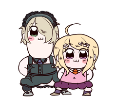 pop team kirukaede by carnivalphantasm