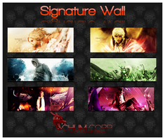 Signature Wall No.2 by Chum162