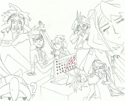 ARC-V Draw Your Squad 1 - Connect 4 by XBrain130