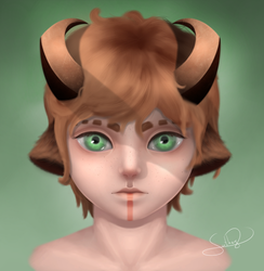 Little Faun by Suthay