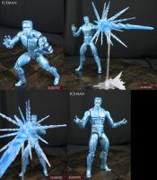 Marvel Legends Infinite custom Iceman figure by Jin-Saotome