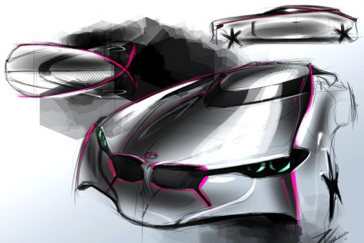 BMW sketch 3 by TonyWcK