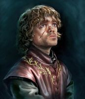 Tyrion Lannister by JonathanGragg