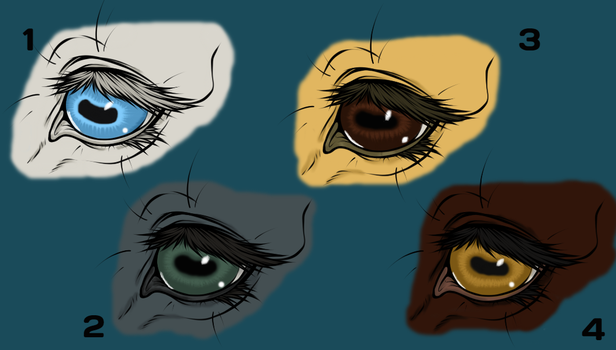 Horse Eyes by AdorkableZombie96