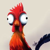 Heihei by HintoArt