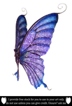 Butterfly Wings By IZSTEVE by TinaLouiseUk
