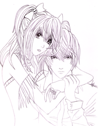 Misa and Light by Zumay-Is-Love