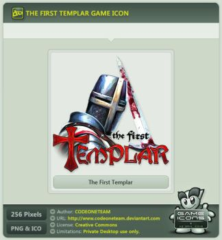 The First Templar Icon by CODEONETEAM