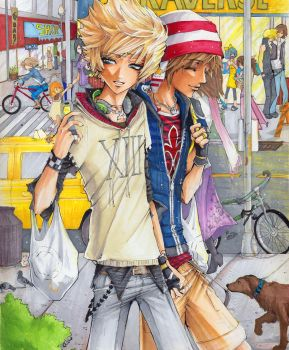 KH: Traverse Shopping by Atomic-Clover
