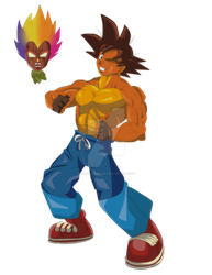 Crash Goku by ultimateEman