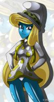 Smurfette Poses 45 by XJKenny