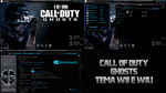 Theme Call OF Duty Ghosts for Windows 8 and 8.1 by TheViniciusOficial