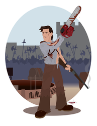 Ash Williams by JackAbsinth