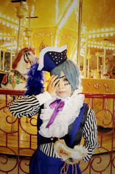 Black Butler Book of  Circus:Smile by kazuhyun
