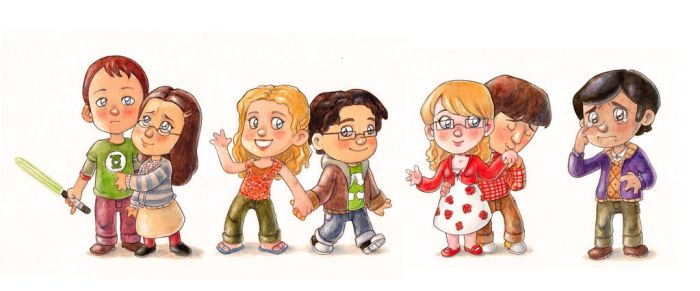 The Big Bang Theory by Gigei
