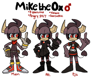 Mike the Ox by DINKY-INK